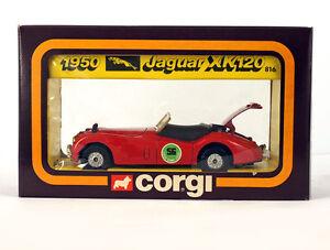 Vintage CORGI TOYS 816 1/36 1950 JAGUAR KX120 , NEW OLD STOCK