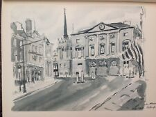 Shire Hall, Chelmsford, Essex, 1947 Vintage Print