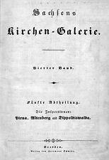 Sachsen Kirchen-Galerie, Band  4, Inspektion Pirna