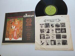 CAMELOT Motion Picture Soundtrack 1967 ALAN JAY LERNER FREDERICK LOEWE (ex/ex)