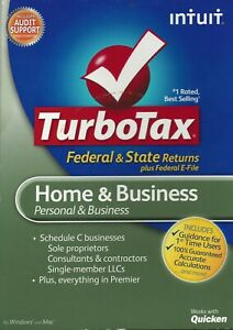 2012 Intuit TurboTax Home and Business