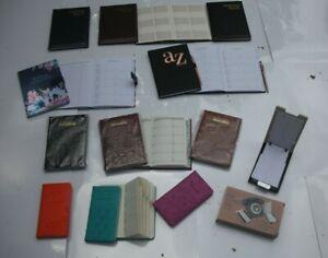 A-Z Index Telephone & Address Books -Alphabetical Tabs-Hard Back (Choice of 12)
