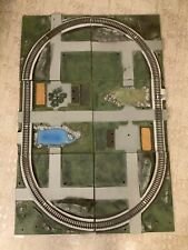 C26- S Scale Gilbert All Aboard Pioneer 600 Train Layout, Has Some Cracks.