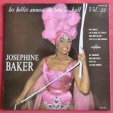 """JOSEPHINE BAKER   25 CM 10"""" LES BELLES ANNEES DU MUSIC HALL 22"""