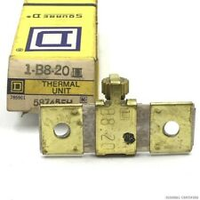 THERMAL UNIT RELAY 1-B8-20 SQUARE D