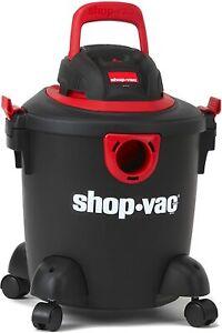 Shop-Vac 2035000 5 gallon 2.0 Peak HP Classic Wet Dry Vacuum Black/Red