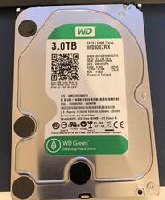 Western Digital WD Green 3TB SATA III Festplatte WD30EZRX-00D8PB0, 5400 RPM, 2MS
