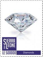 Sierra Leone - 2019 Diamonds II - Stamp - SRL1802local08a