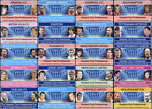 Greatest English Club Professionals 1 - (Full Sets)