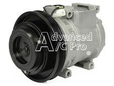 New AC A/C Compressor Fits: 1990 - 1997 Toyota Corolla L4 1.6 - 1.8L 4 cyl