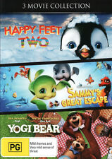 Happy Feet Two / Sammy's Great Escape / Yogi Bear (2010) (  - DVD - NEW Region 4