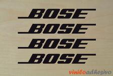 PEGATINA STICKER VINILO Bose audio sound altavoces