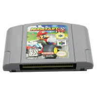 For Nintendo N64 Mario Kart 64 Video Game US Version Authentic TESTED WORKING