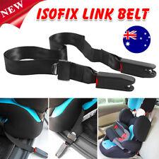 Adjustable Isofix Latch Link Belt Anchor Holder Car Baby Kids Safe Seat Strap