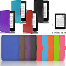 Smart Sleep Ultra Slim Shockproof Case Cover For Kindle Paperwhite+Screen film