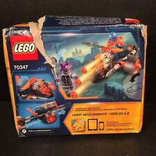 LEGO Nexo Knights 70347 King's Guard Artillery Damaged Box Sealed Contents