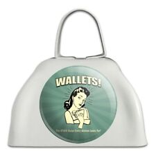 Wallets Other Bulge Woman Looks For Cowbell Cow Bell Instrument