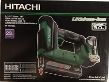 Hitachi NP18DSAL 23 gage Cordless Pin Nailer 18 volt Kit including battery NEW