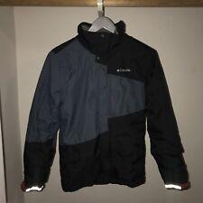 Columbia Omni - Tech Sports Waterproof Heated Blue Jacket Men's