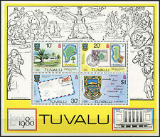 Tuvalu 1980 SG#MS147 London Stamp Exhibition MNH M/S #A93313