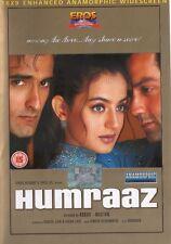 HAMRAAZ - RARE EROS BOLLYWOOD DVD - Bobby Deol, Akshay Khanna, Amisha Patel.