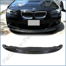 Fit 06-09 E92 E93 M-Tech Front Bumper AK Look Carbon Fiber Extension Spoiler Lip