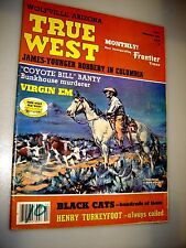 True West Magazine Feb 1982 James Younger Robbery In Columbia - Coyote Bill !