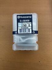 Husqvarna 50 Grit Diamond Grinding Segments Med Bond G645D NEW!