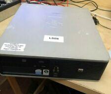 PC desktop HP dc5800 SFF Intel Core2Duo E7500 4GB Ram 320GB HD Windows 7 Pro