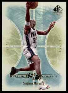 2001-02 SP AUTHENTIC SPECIAL FORCES STEPHON MARBURY #SF5