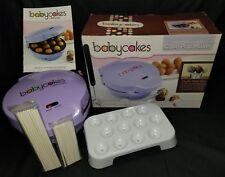 BABYCAKES CP-12 Cake Pop Maker, 12 Cake Pop Capacity, Violet Purple 12-Pops