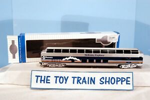 BACHMANN 13037 WESTOURS MCKINLEY EXPLORER LIGHTED FULL-DOME PASS CAR. TESTED.