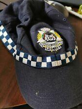 Western Australia (WA) Police Cap Retired Obsolete, Vintage + Rare!