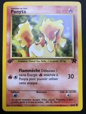 Carte Pokemon PONYTA 64/82 Commune Team Rocket EDITION 1 FR NEUF