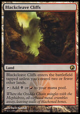 MTG BLACKCLEAVE CLIFFS PLAYED/ROVINATO - RUPI DI FENDITURA NERA - SOM
