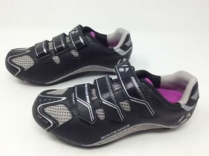 Bontrager Solstice Women's Cycling MTB Shoes Size US 5 EU 36 Black Gray Pink NEW
