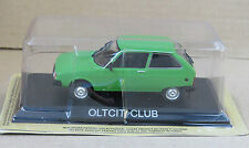 "DIE CAST "" OLTCIT CLUB "" LEGENDARY CARS SCALA 1/43"