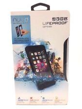 LifeProof iPhone 6s Plus & 6 Plus Nuud Waterproof Shockproof Case Cover Schwarz