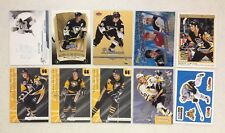 LOT OF 30 DIFFERENT MARIO LEMIEUX INSERT HOCKEY CARDS HOF NO DUPS PENGUINS L@@K