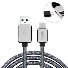 Braided USB 3.1 Type-C Male to USB 3.0 Adapter Data Charger Charging Cable