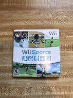 Wii Sports (Wii, 2006) GUC With Manual