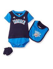 "NBA Oklahoma City Thunder Infant ""Lil Jersey"" Creeper Bib & Bootie Set 24 Months"
