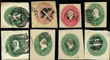 Fancy Cancel Collection Son 2 Cent 19th C Postal Stationary Corner Us 2057