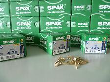 ORIGINAL ABC Spax YELLOX Spanplattenschrauben TORX Schrauben von 3x30 - 6x200 mm