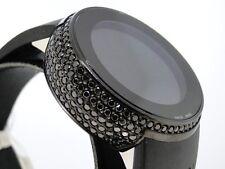 5.0 Ct Ladies Brand New Ya114401 I Gucci Digital Black Diamond Watch