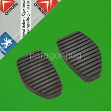 GENUINE Peugeot Clutch & Brake Pedal Rubbers 405 406 605 607 Partner Berlingo