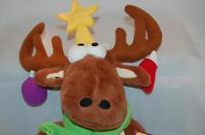 Christmas Reindeer Moose 2010   Plush Toy Ornaments  Antlers