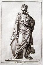 EUROPA ALLEGORIE EUROPE ALLEGORY SIMON THOMASSIN ORIGINAL-KUPFERSTICH 1723