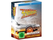 Zurück in die Zukunft - Trilogie - Limited Mediabook Edition - Blu-Ray/DVD - NEU