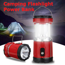 4x Super Bright 36 LED Solar Rechargeable Lantern Lamp Hiking Camping Tent Light
